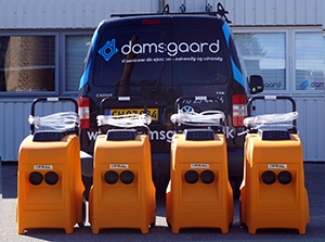 Professionelle affugtere fra Damsgaard Service ApS