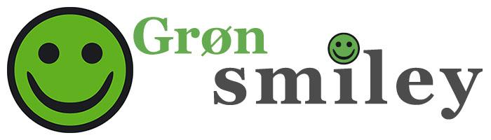 Rengøring med grøn arbejdsmiljø smiley